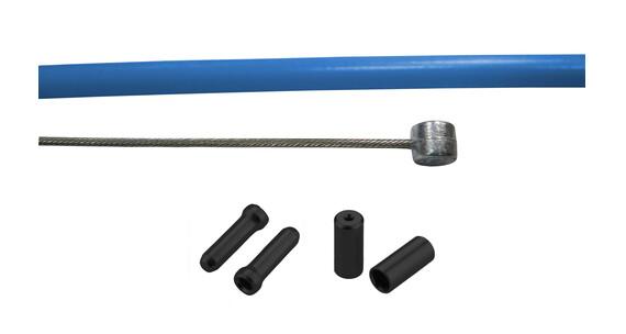 RFR Universal Sport Rem binnenkabel- & Behuizing blauw/zwart